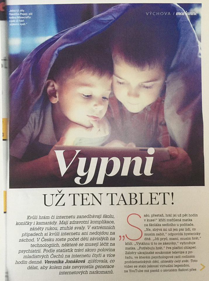 Vypni už ten tablet